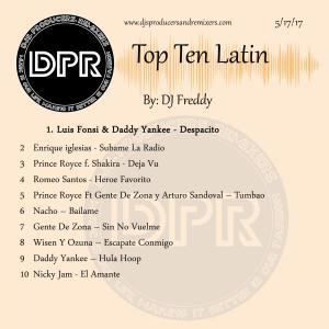 Top Ten Latin