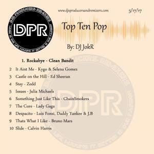 Top ten Pop music